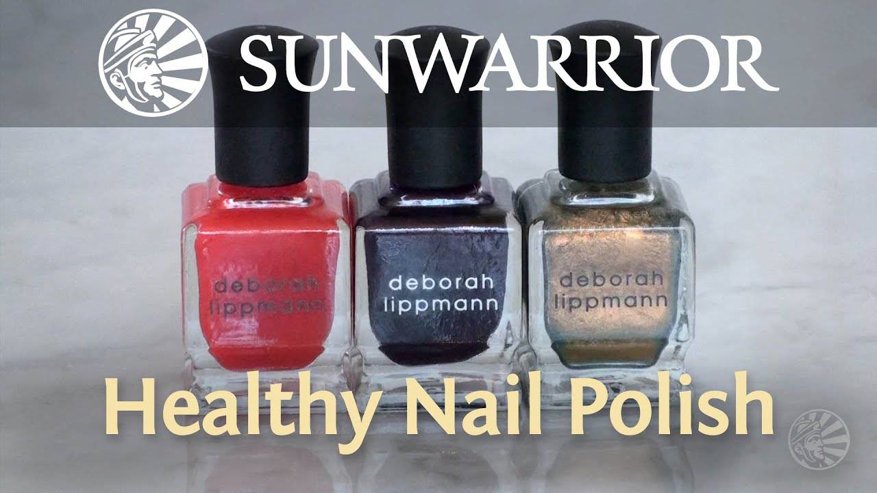 Healthy Nail Polish | Marzia Prince - YouTube