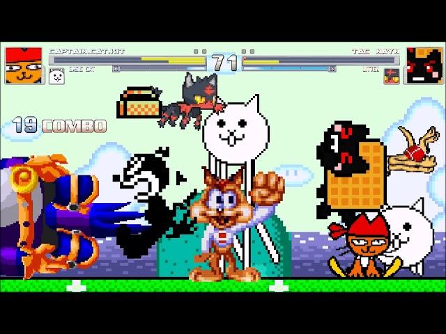 M.U.G.E.N: Bits | Cat Fight~!