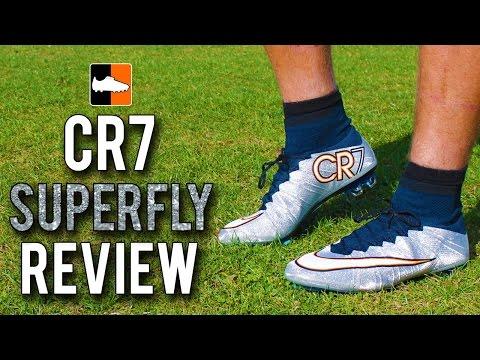 Cristiano Ronaldo's Silverware Mercurial CR7 Superfly Review