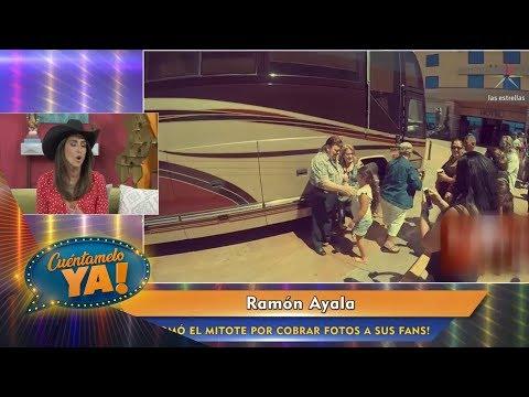 Ramón Ayala causa polémica al cobrar fotos con sus fans | Cuéntamelo YA!