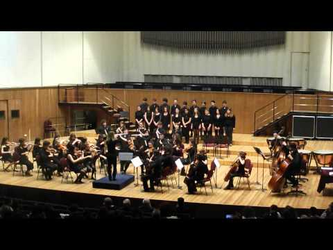 G. Fauré, Pavane. Orchestra e Coro del Liceo Musicale di Milano. Direttore Eleonora Biscevic