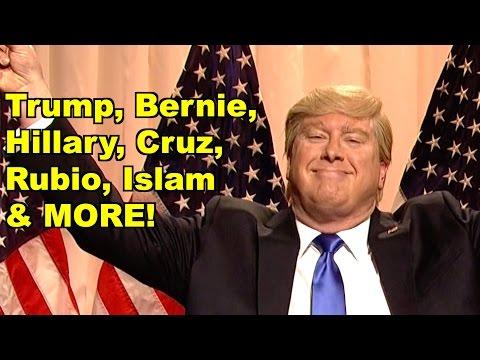 Trump, Bernie, Hillary, Cruz, Rubio - Sarah Silverman, Glenn Beck & MORE! LV Sunday Clip Roundup 150