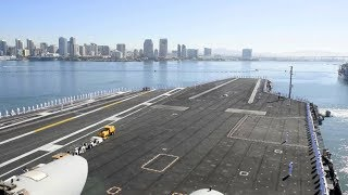 Aircraft Carrier USS Theodore Roosevelt Departs For Persian Gulf