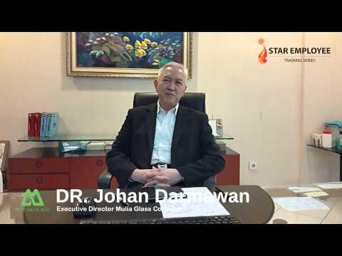 Testimony dari DR. Johan Darmawan - Mulia Glass Container