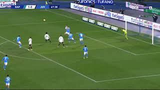 ملخص مباراة نابولي ويوفنتوس | نابولي يوقف سلسلة يوفنتوس الإيجابية | نابولي 1 يوفنتوس 0
