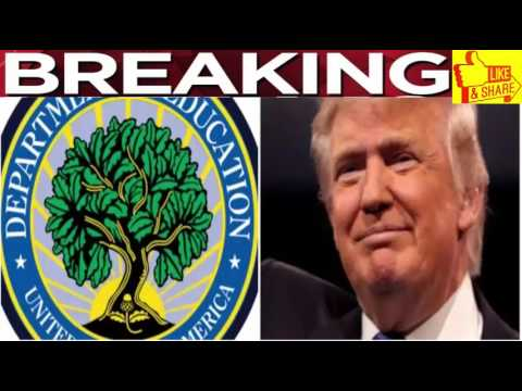 BREAKING :Dept  Of Education Reveals How They'll Spend Trump's Donation – Millions Cheering