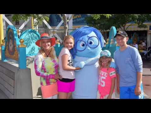 Disneyland family fun