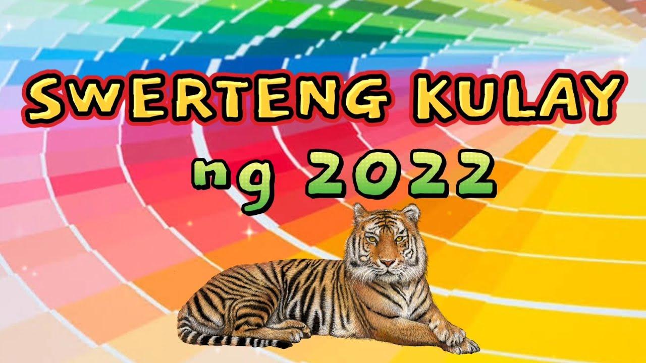 MGA SWERTENG KULAY NG 2022 YEAR OF WATER TIGER