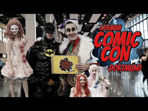 GERMAN COMIC CON  DORTMUND 2019 | WINTER EDITION | COSPLAY VIDEO TVGC