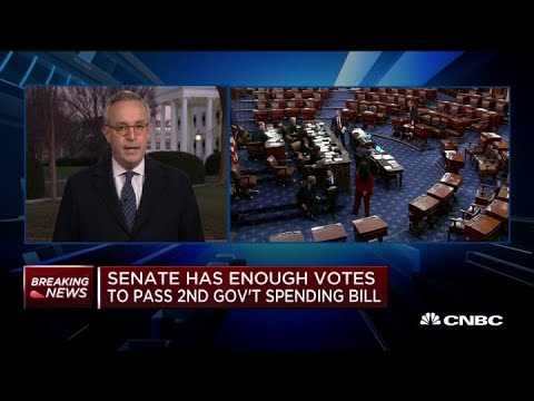 Senate Has Enough Votes To Pass Second Government Spending Bill