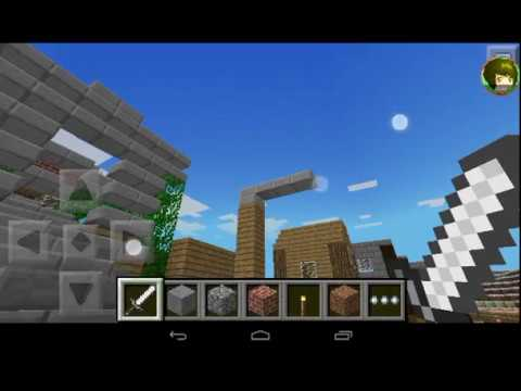"""Забег по моему маленькому миру в """"_Minecraft_PE_"""""""