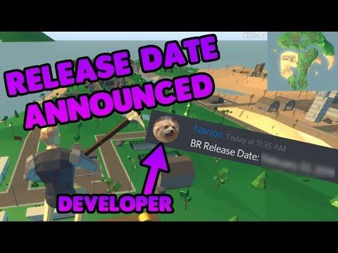A Developer ANNOUNCED the Strucid Battle Royale RELEASE DATE (Roblox)