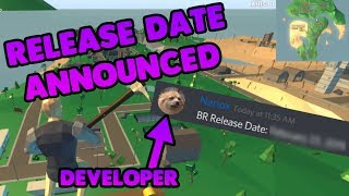 A Developer ANNOUNCED the Strucid Battle Royale RELEASE DATE (Roblox)