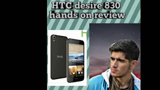 HTC desire 830 review