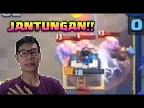 BUKA SMC + KALO JANTUNGAN MENDING JANGAN NONTON DEH!! - Clash Royale Indonesia