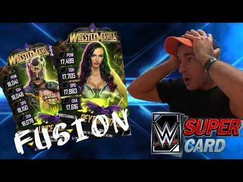 SONO ARRIVATE LE FUSIONI WM34!! - WWE SUPERCARD ITA