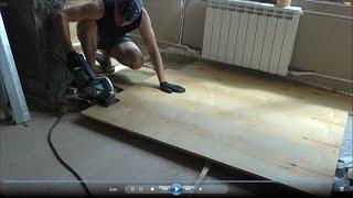 видео Плитка и деревянный пол: совмещаем