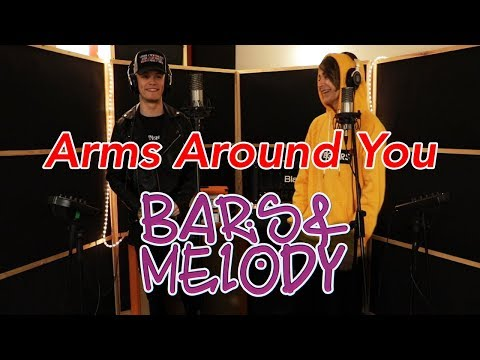 XXXTENTACION & Lil Pump - Arms around you || Bars and Melody cover