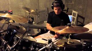 """""""CH 375 268 277 ARS"""" By The Dillinger Escape Plan - Drum Cover"""
