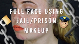 FULL FACE USING JAIL/PRISON MAKEUP CHALLENGE! | This really works!!! | JMC_Makeup
