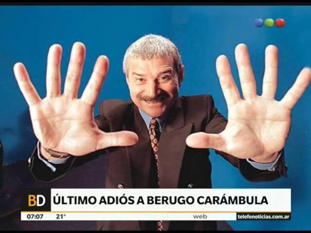 El adiós a Berugo Carámbula - Telefe Noticias