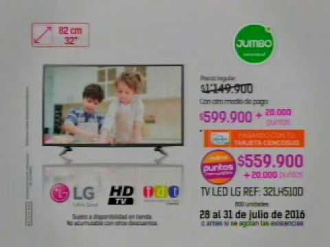 JUMBO PUNTOS CENCOSUD PUNTOS TV 10