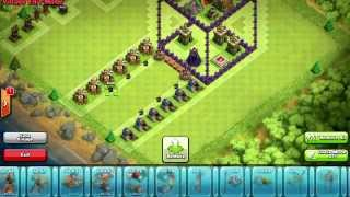 Clash Of Clans | Awesome Town Hall 7 Troll Base Design - 3D Box - Jump Base ! - Troll Base