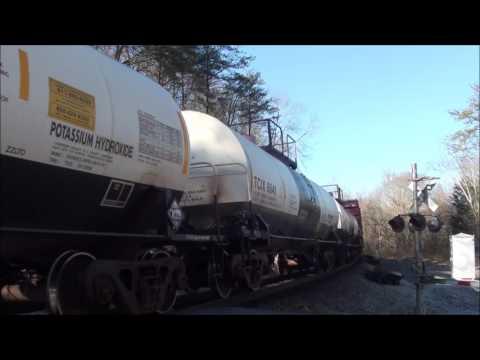 Trains around Chattanooga ft. NS #8300 & NS #6920!!! (Jan. 18-20, 2016)