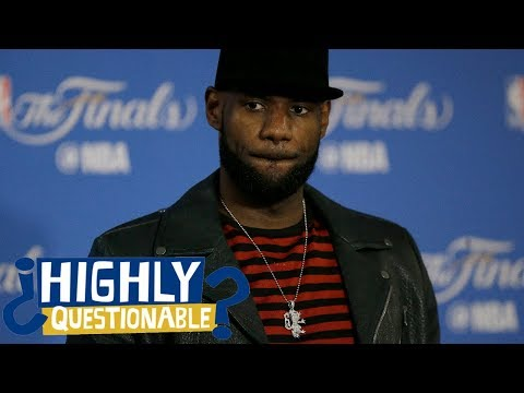 New NBA playoff seedings would be good ... once LeBron James retires | Highly Questionable | ESPN