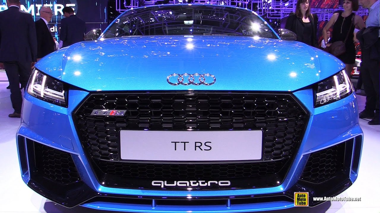 2017 Audi Tt Rs Exterior And Interior Walkaround 2016 Paris