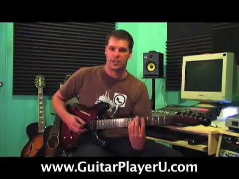 Rock Guitar Lessons - A Minor Pentatonic and soloing - YouTube