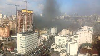 День пожаров в Киеве, горят рестораны, на Крещатике(, 2015-03-04T12:16:09.000Z)