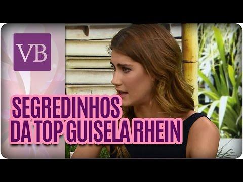 Beleza Das Celebridades: Guisela Rhein  - Você Bonita (08/04/16)