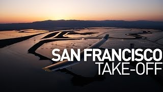 San Francisco: Take-Off of Solar Impulse 1, Across America
