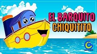 Vídeos infantiles para niños - El Barquito Chiquitito