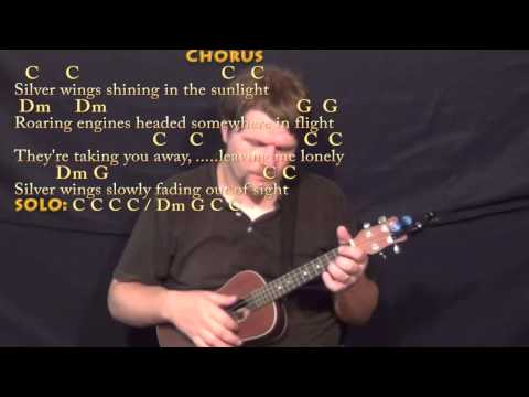 Silver Wings (Merle Haggard) Ukulele Cover Lesson in C with Chords/Lyrics