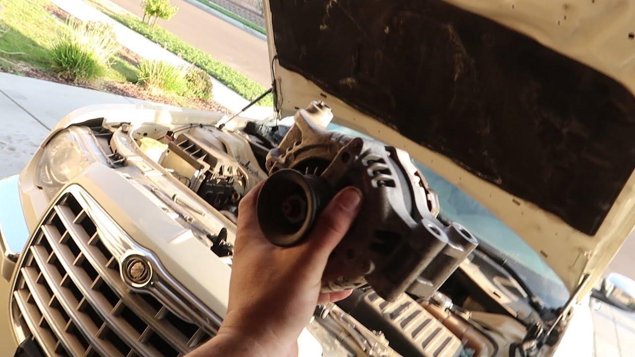 How To Change Alternator On Chrysler 300  Charger  Magnum