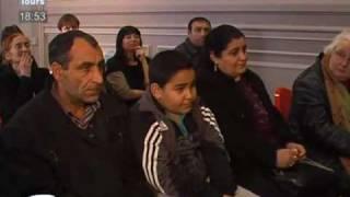 Tours : Baptême républicain pour Tital, l