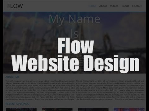 Website Building – See The Process – Speeded Up Video