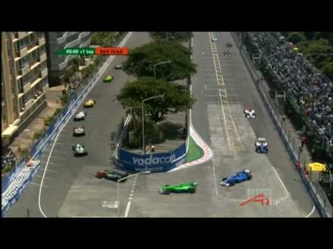 A1GP 07/08 : Germany Takes Out Netherlands (Durban)