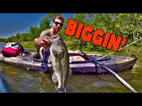 Kayak Bass Fishing In Kansas City
