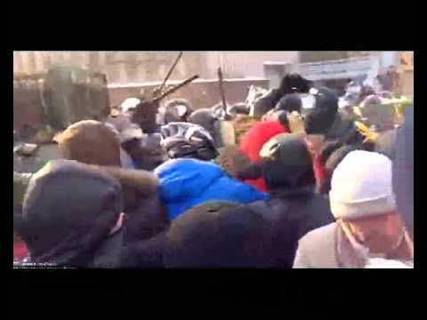 Siege Of Dnipropetrovsk City Administration Part 2 Днепропетровск, штурм ОДА