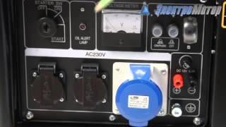видео Бензиновый генератор в Алматы