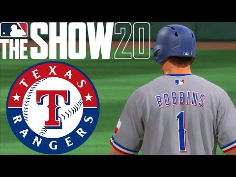 MLB The Show 20 | Realistic Franchise Gameplay | Texas Rangers Franchise | Season 2020 Game 1-13