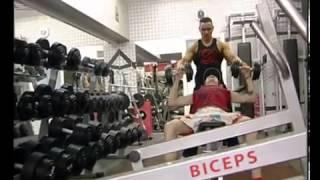 №21. Накачать мышцы за 1 месяц! Часть 6(Данное видео не является личным видео Юрия. Это эпизоды разных шоу и телепрограмм ТВ каналов. http://www.biceps.com.ua..., 2013-03-06T12:18:35.000Z)