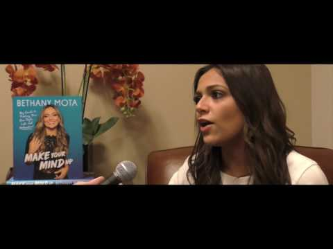 Bethany Mota interview about her book