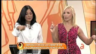 Imposición de la libreta de racionamiento en Venezuela  - América TeVé
