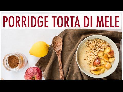 porridge-gusto-torta-di-mele:-ricetta-facile-per-la-colazione---pronto-in-10-minuti!- -elefanteveg