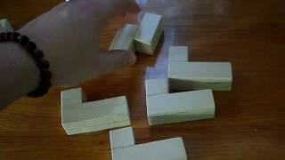как собрать куб-головоломку от pirate collection