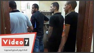 مئات الطلاب يجرون تحاليل المخدرات بمدينة جامعة القاهرة الطلابية
